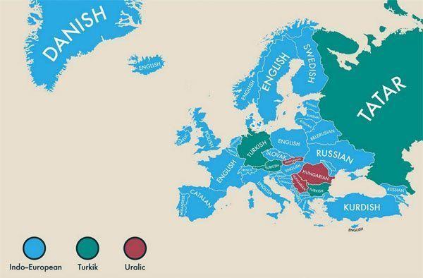 Segundas lenguas cooficiales de Europa
