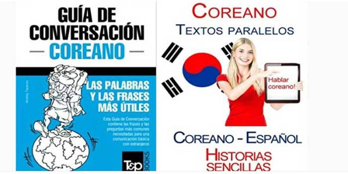 Libros aprender coreano