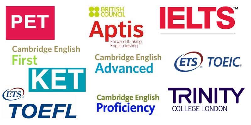 Exámenes oficiales de inglés