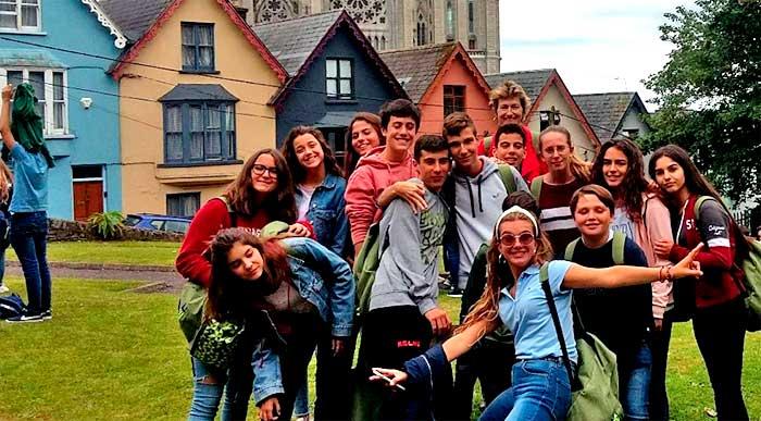Año académico en Irlanda