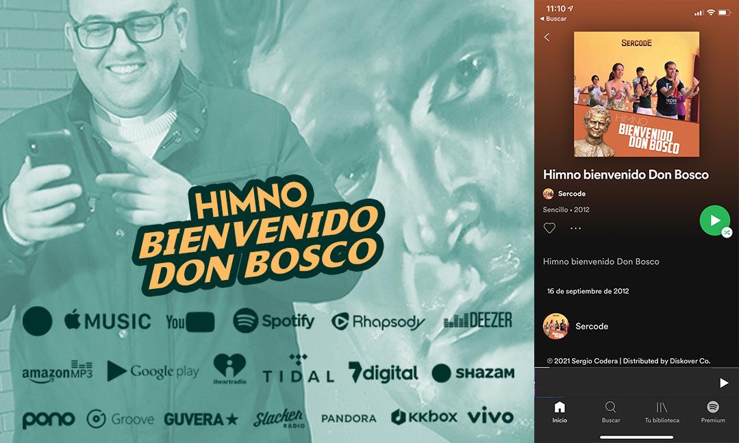 Don Bosco suena en todas las plataformas digitales