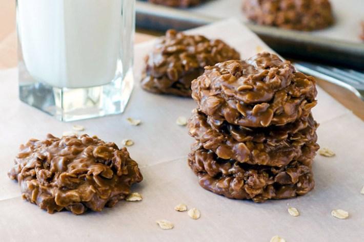 Easy Recipes - Nutella No Bake Cookies