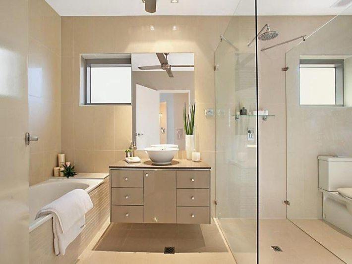 Quiet corner modern bathroom design ideas quiet corner for 1 2 bath remodel ideas