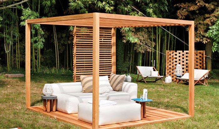 Quiet CornerInspiring Pergola Ideas Garden