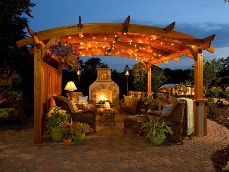 Beau Over Time It Will Grow Around The Structure, Creating A Cozy Space To Enjoy  All Year Round. Large Garden