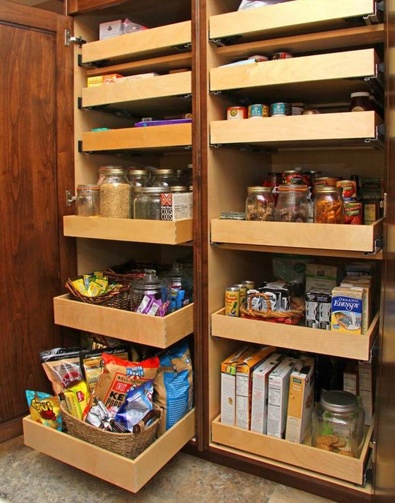 Organize Your Kitchen Cabinets 1