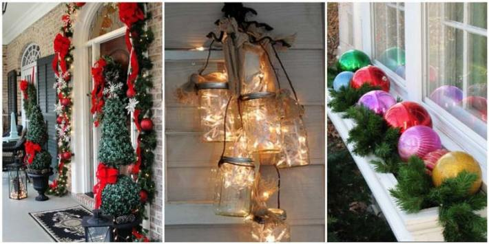 outdoor christmas ideas for your yard decoration 1