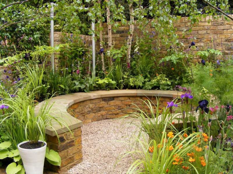 Small Urban Garden Design Ideas And Pictures 1 ...