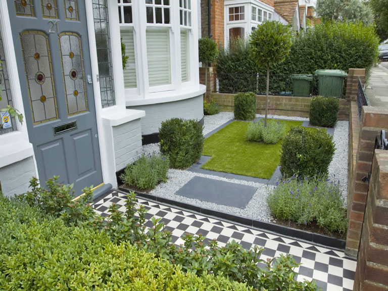 Quiet Corner:Small Urban Garden Design Ideas - Quiet Corner