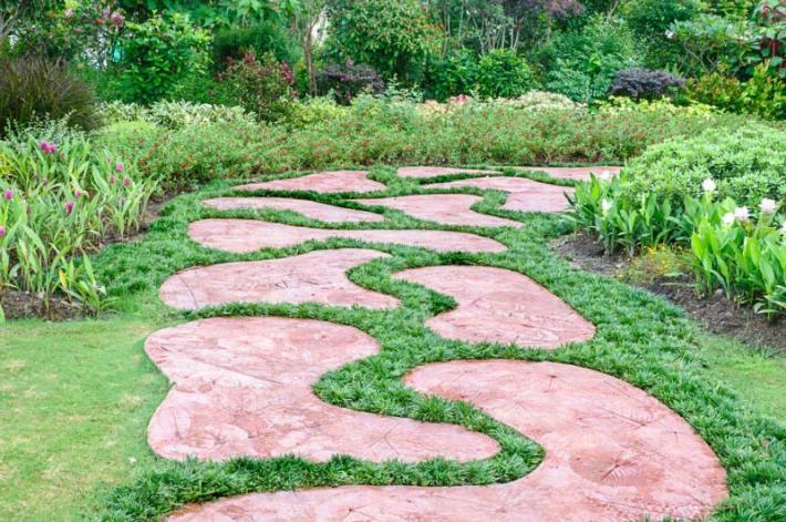 Walkways and Garden Path