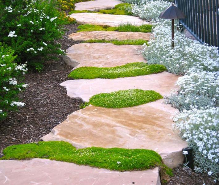 Walkways And Paths: Quiet Corner:Walkways And Garden Path