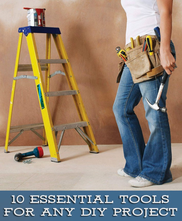 10 Essential Tools for any DIY Project