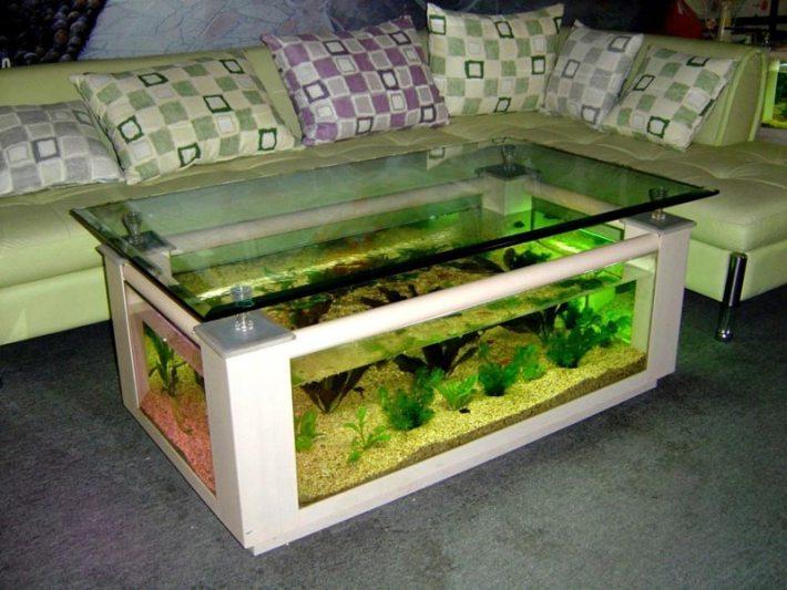 Beautiful Coffee Table Aquariums (7)