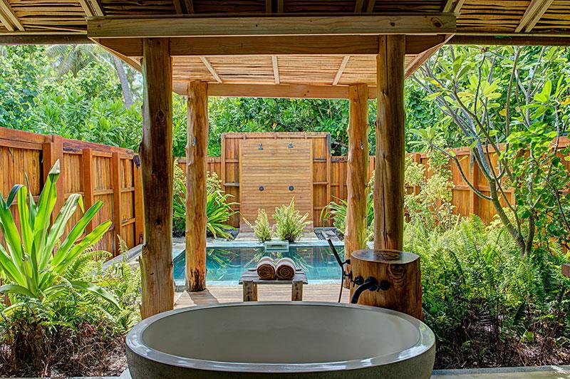 Beautiful Outdoor Bathroom Designs - Quiet Corner on Backyard Bathroom Ideas  id=62043