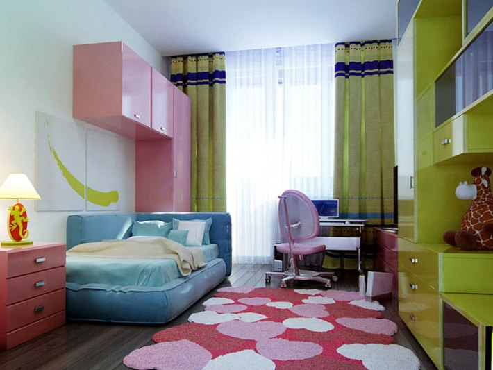 Colorful Kids Room Designs (5)