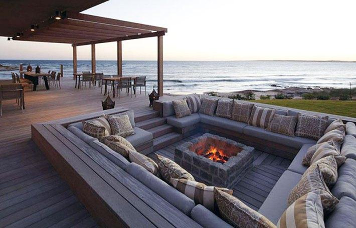 Quiet Corner Conversation Pits Relaxed Luxury Quiet Corner