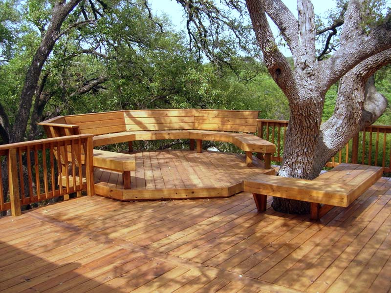 Quiet Corner:Great Deck Design Ideas - Quiet Corner