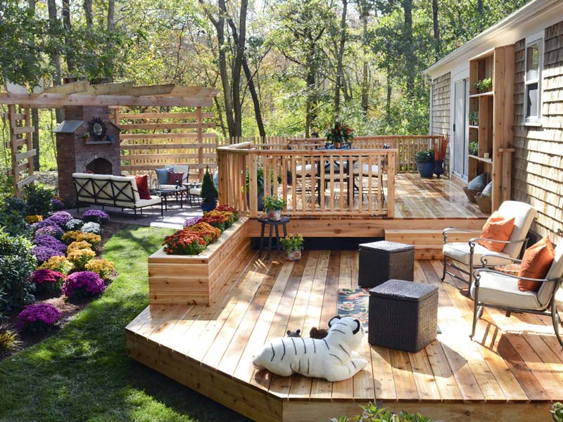 Backyard Deck Design Ideas patio outdoor deck design Great Deck Design Ideas 3