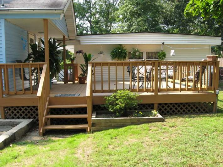 Quiet corner great deck design ideas quiet corner for Neat deck ideas