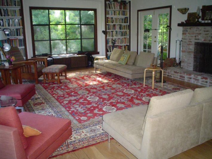 Living Room Carpet Ideas and Photos (3)