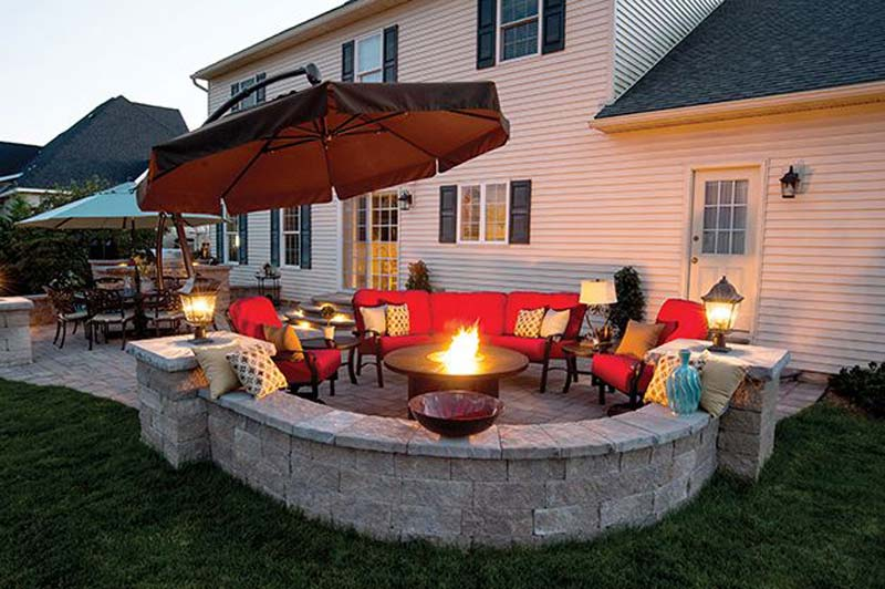 Outdoor Fire Pit Seating Ideas - Quiet Corner on Outdoor Fire Pit Ideas id=60227