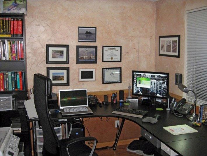 Small Home Office Interior Design