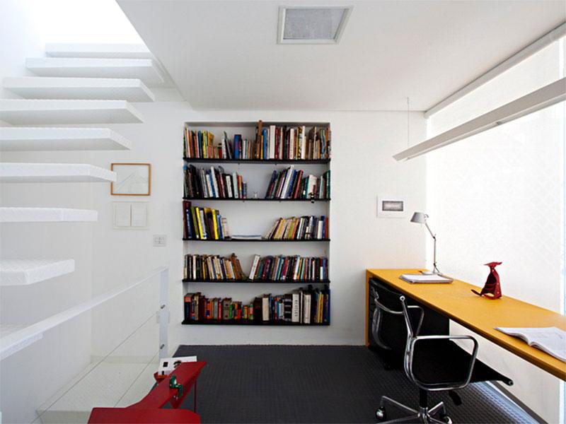 Quiet Corner:Small Home Office Interior Design - Quiet Corner