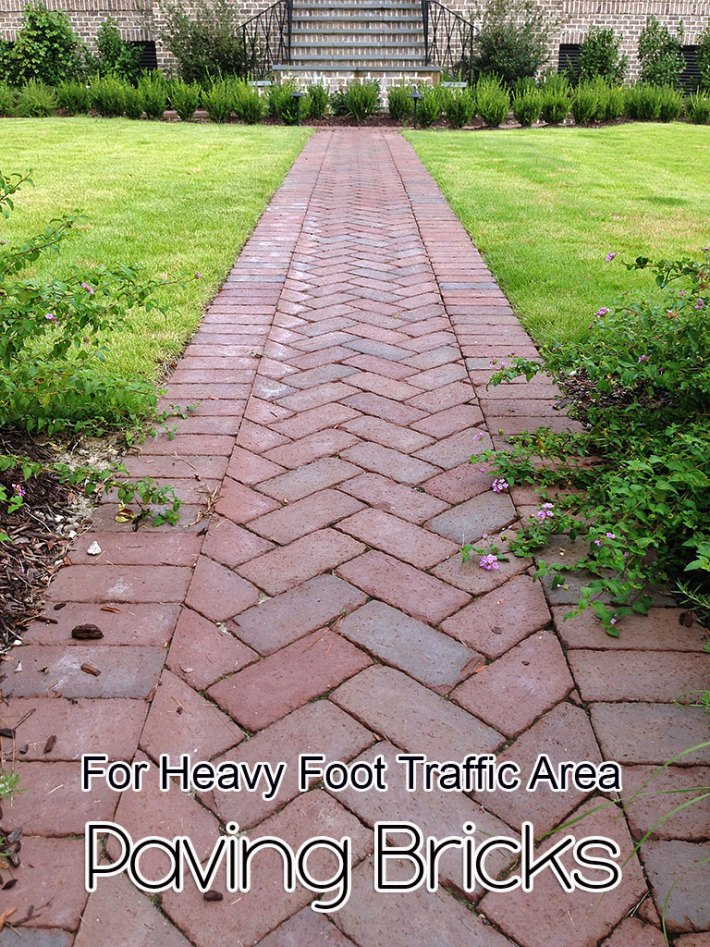 Paving Bricks – For Heavy Foot Traffic Area