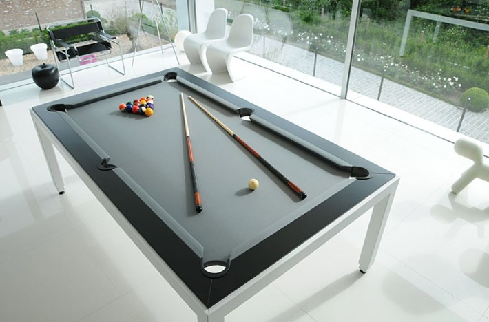 Dining and Pool Table Combination: Fusion Tables
