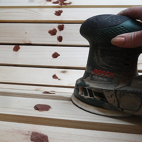 DIY – Garden Love Seat