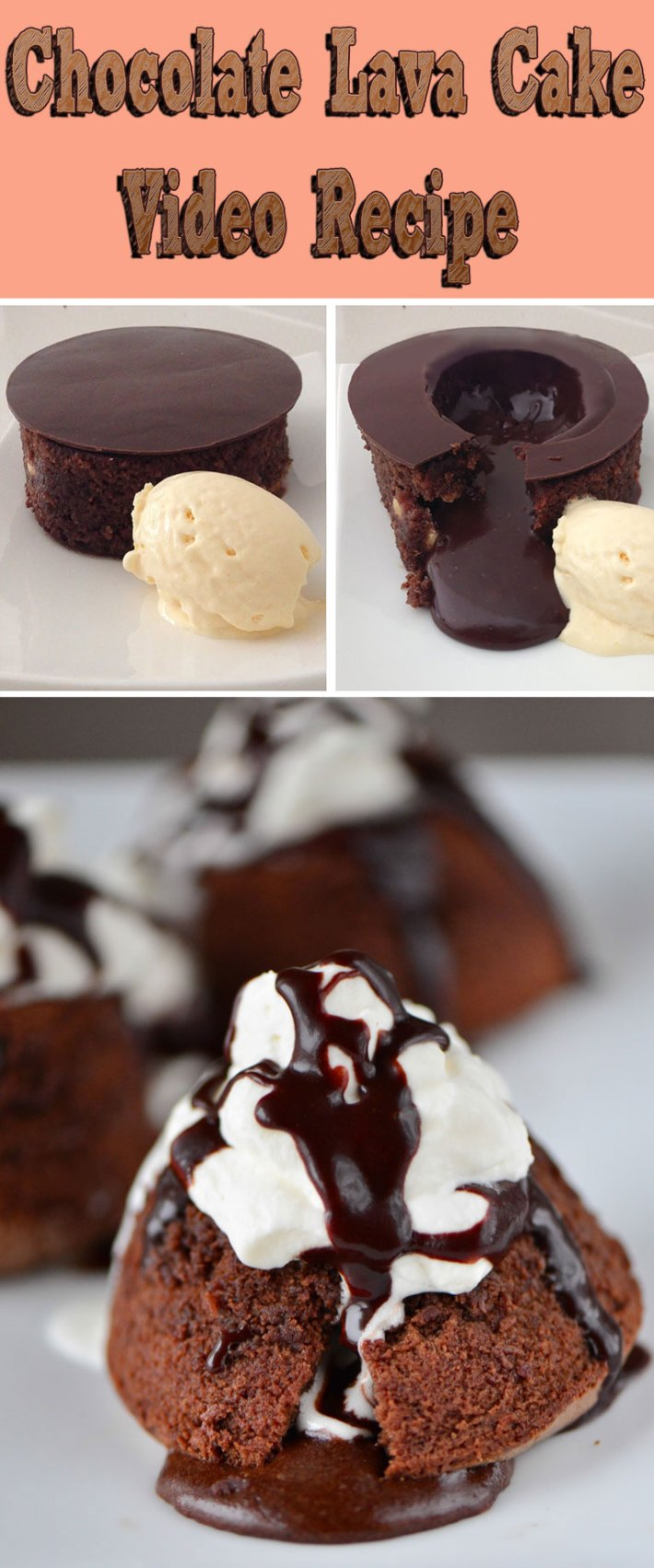 Chocolate Lava Cake – Video Recipe