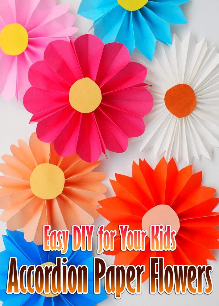 Quiet cornereasy diy for your kids accordion paper flowers easy diy for your kids accordion paper flowers mightylinksfo