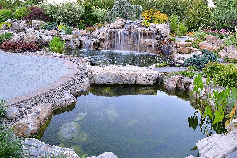 Quiet Corner:Inspiring Backyard Pond Ideas - Quiet Corner on Pond Ideas Backyard id=48329