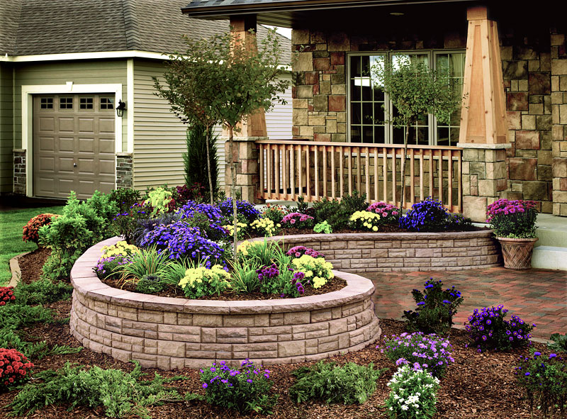 Inspiring Retaining Walls Ideas - Quiet Corner on Wall Ideas For Yard id=12808