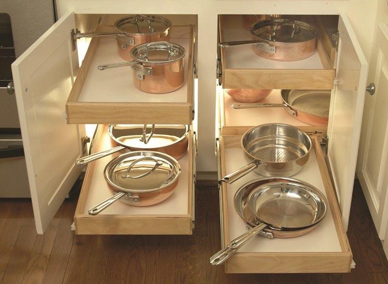 Quiet Corner:Kitchen Storage Ideas