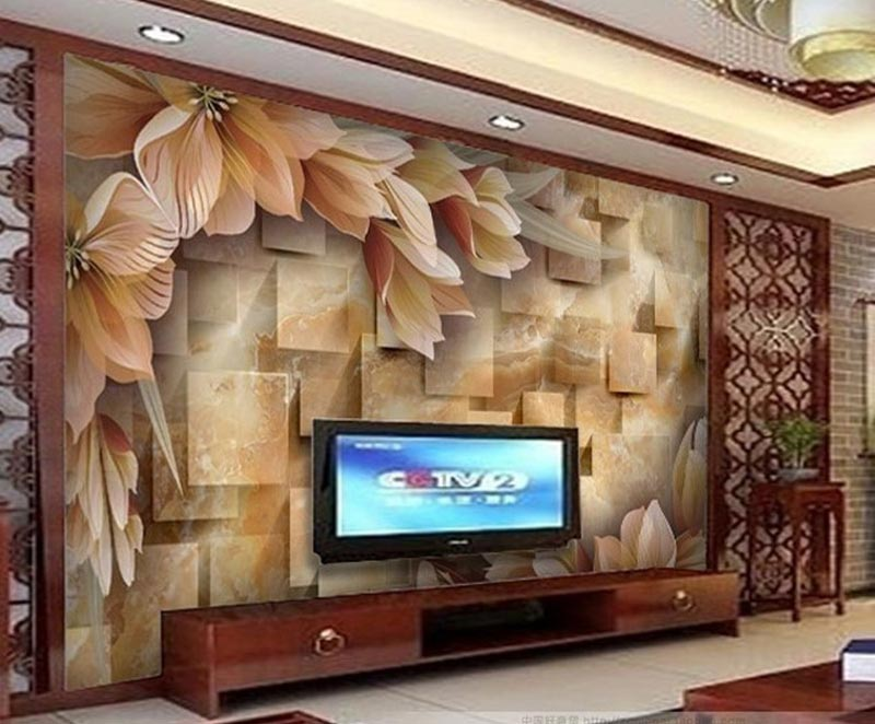 ... Living Room Photo Wallpapers And Wall Art (11)