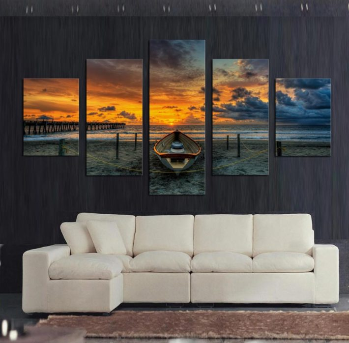 Living Room Photo Wallpapers and Wall Art (14)