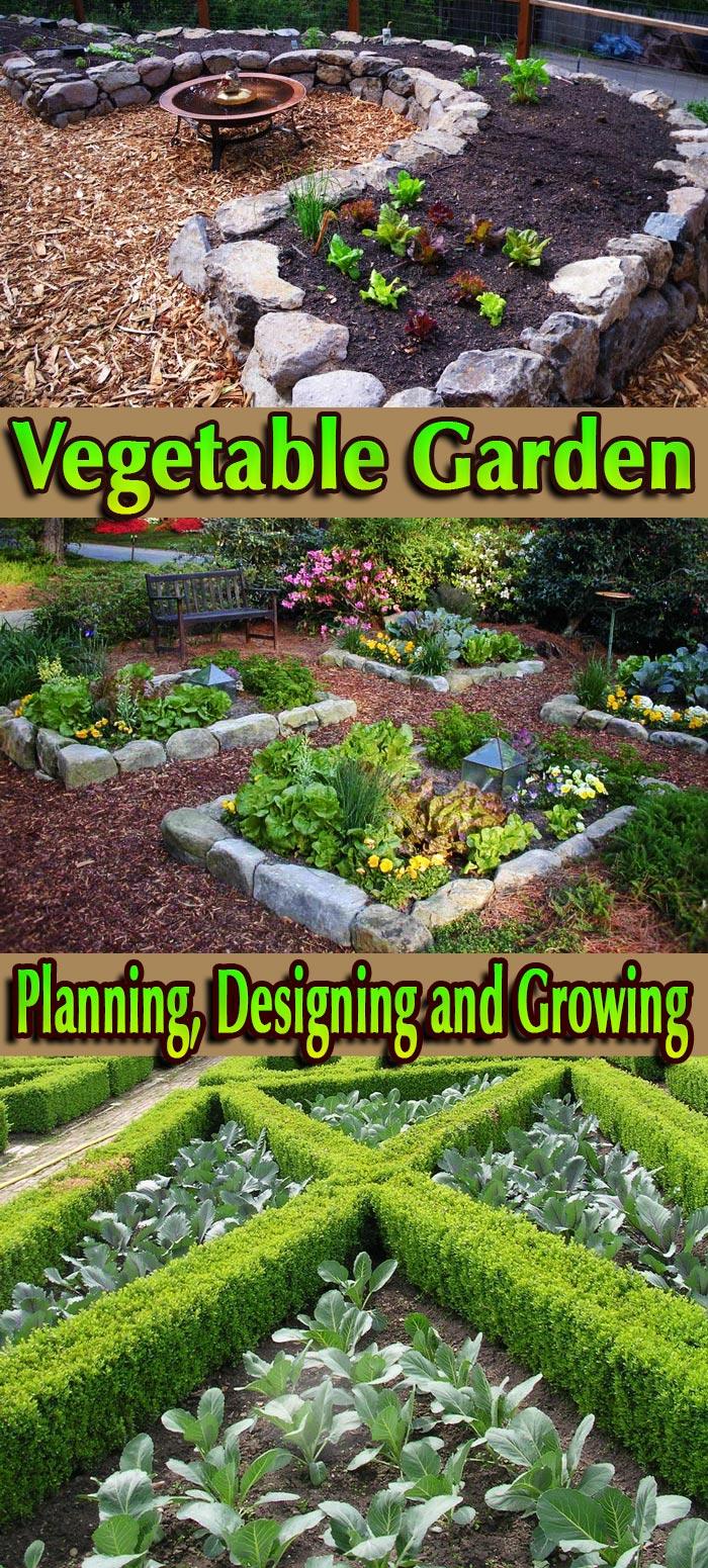 Quiet corner vegetable garden planning designing and for Corner vegetable garden ideas