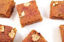 Pumpkin Spice Snack Bars