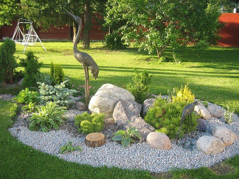 Stunning Rock Garden Design Ideas - Quiet Corner on Small Garden Ideas With Rocks id=30811