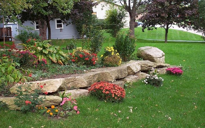 Quiet Corner:Stunning Rock Garden Design Ideas - Quiet Corner