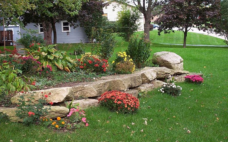 Perfect Stunning Rock Garden Design Ideas (6) ...