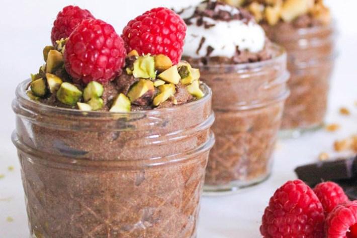 Superfood Chocolate Avocado Pudding