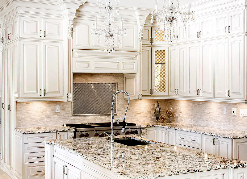 Antique White Kitchen Ideas Part - 27: Kitchen Ideas - Antique White Kitchen Cabinets