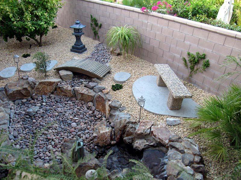 Beautiful Rock Garden Ideas - Quiet Corner on Backyard Rock Garden Ideas id=78594
