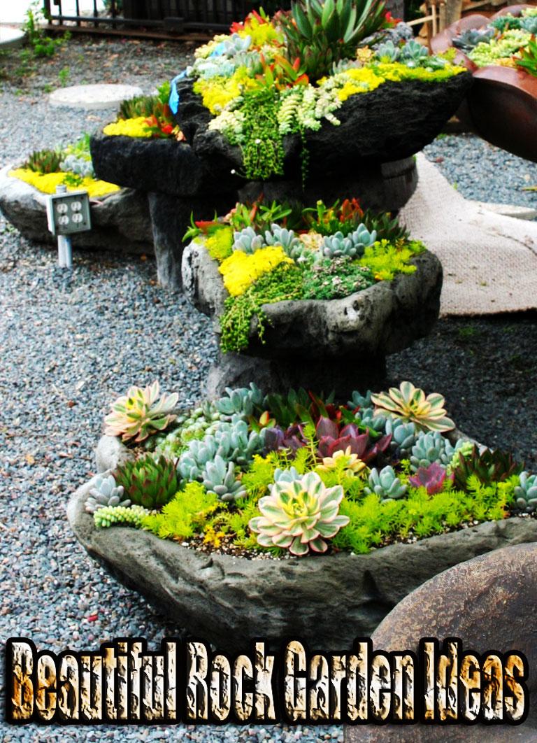 Quiet Corner:Beautiful Rock Garden Ideas - Quiet Corner on Backyard Rock Garden Ideas id=28414