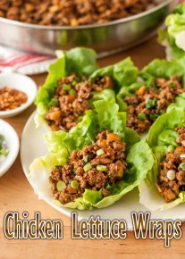 Chicken Lettuce Wraps Recipe