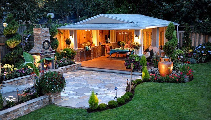 Quiet Corner Outdoor Kitchen Design Quiet Corner