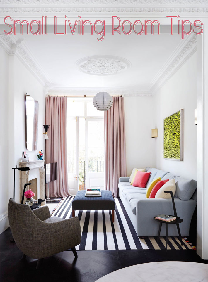 Tips for Small Living Room - Quiet Corner