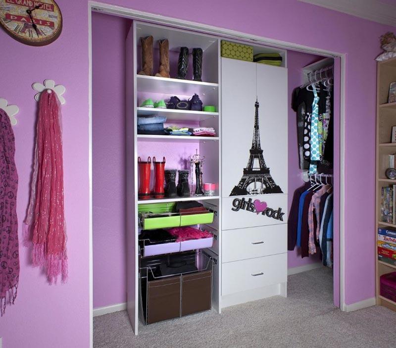 Closet Design Ideas: Quiet Corner:Cute Small Closet Ideas